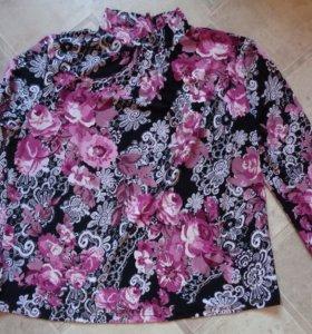 Блуза женская р-р 50