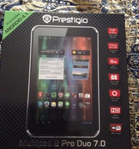 Планшет prestigio multipad 2 pro duo 7.0