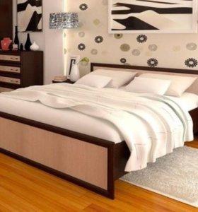 """Кровать новая """"Модерн 160"""" с матрасом!"""