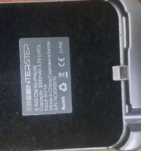 Продаю зарядный чехол, АКБ айфон S6
