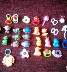 Пакет игрушек-погремушек 0+