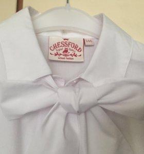 Блуза белая школьная, р. 146.