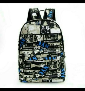 Новый рюкзак NYC синий
