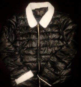 Куртка осень-весна р.48-50 б/у