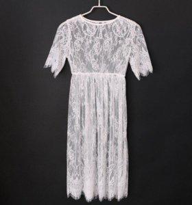 Будуарное платье-накидка