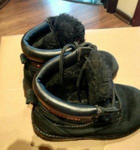 Зимние ботинки для мальчика р.28
