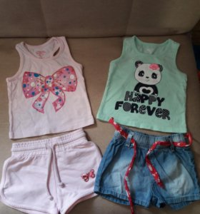 Одежда на девочку от 6 мес. до 1.5 лет
