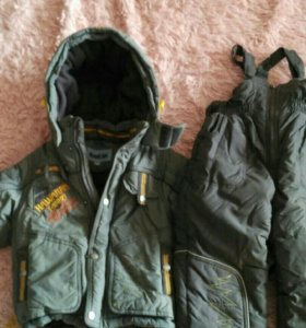 Зимний костюм для мальчика 1,5-4года