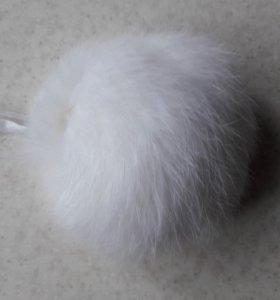 Помпоны натуральные (кролик)