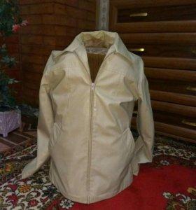 Натуральная кож.куртка