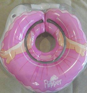 Круг для купания малышей на шею ROXY KIDS