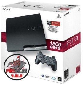 PS3 Прошитая (1500GB) Rebug 4.81