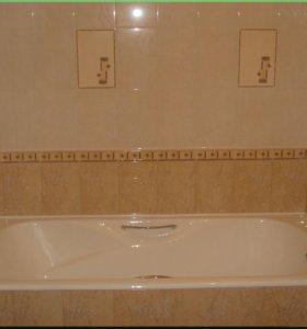 Ремонт ванной комнаты гарантия 2 года