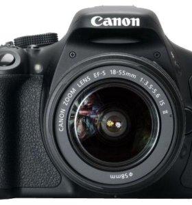 Фотоаппарат Canon EOS 600D Kit 18-55 DSlll