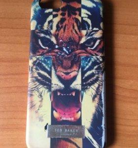 Чехол на iPhone 6 6s тигр