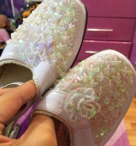 Туфли для девочки НОВЫЕ!!!👠