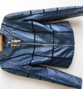 Куртка экокожа XS-S новая