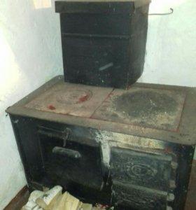 печь с духовкой
