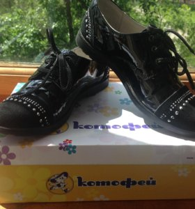Полуботинки (туфли) для девочки, р-р 35