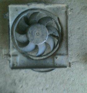 Вентилятор радиатора ниссан