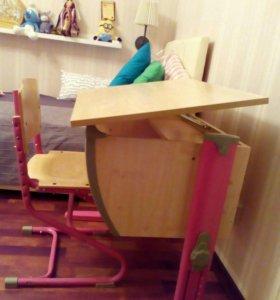 Парта и стул шкальные