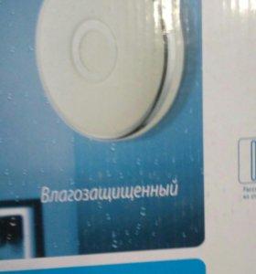 Влагозащищённый светильник в ванную комнату, новый