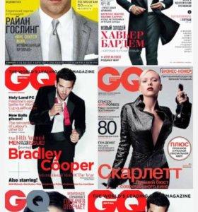Журналы GQ много!