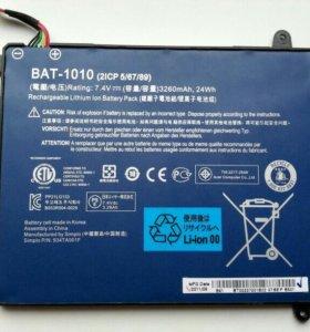 Аккумулятор Bat-1010 для Acer a500, a501
