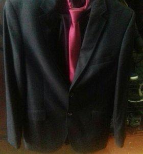 Костюм черный+рубашка