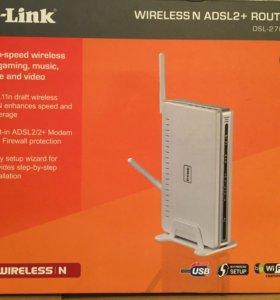 Высокоскоростной, беспроводной роутер D-Link