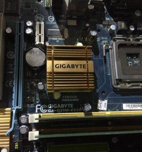 Gigabyte ga-g31m-es2l. S775