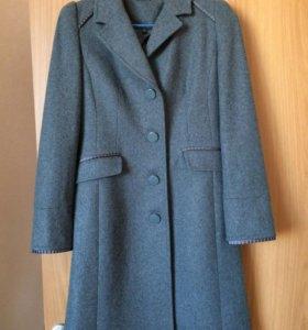 Новое шерстяное пальто Glenfield р 42-44