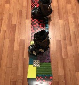 Сноуборд - комплект