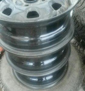 Штамп Hyundai,Kia r13 4*100