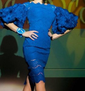 Платье, синее платье, вечернее платье