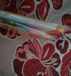 Блокнот с ручкой и стикерами
