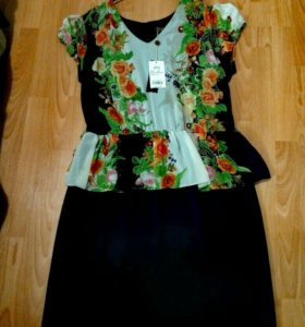 Новое платье размер 52-54