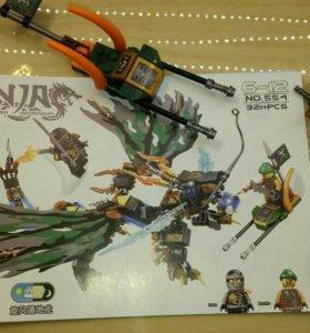 Конструктор Ниндзяго аналог Лего