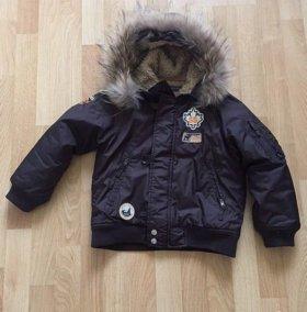 Тёплая куртка на мальчика Brums