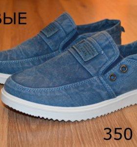 Новые джинсовые кеды