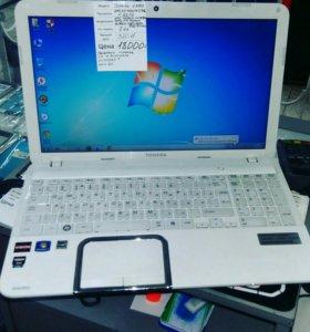 Продам мощный, игровой 4-х ядерный ноутбук Toshiba