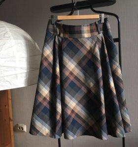 Новая юбка в клетку