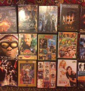 dvd диски( фильмы)