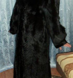 Шуба из степного волка 46 размер