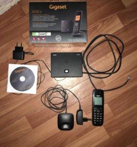 VoIP-телефон Gigaset A510 IP чёрный