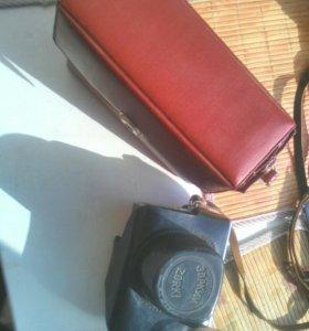 Плёночные фотоаппарат Зоркий 10