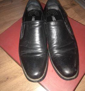 Ботинки мужские ,кожа натуральная