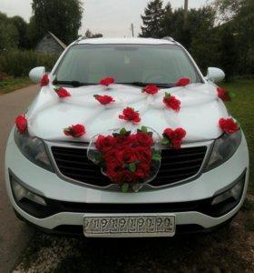 Свадебный автомобиль (с водителем)