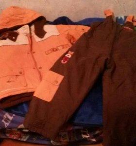 Куртка и штаны осень рост 122