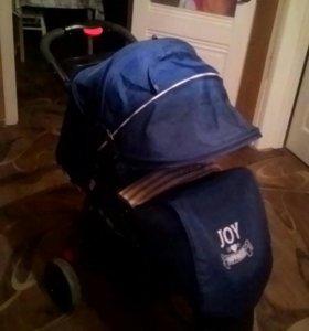 Коляска прогулочная BABYTON STRIPE BLUE